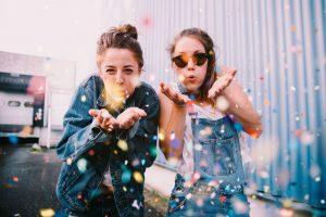 pauline et lucie, créatrices du blog